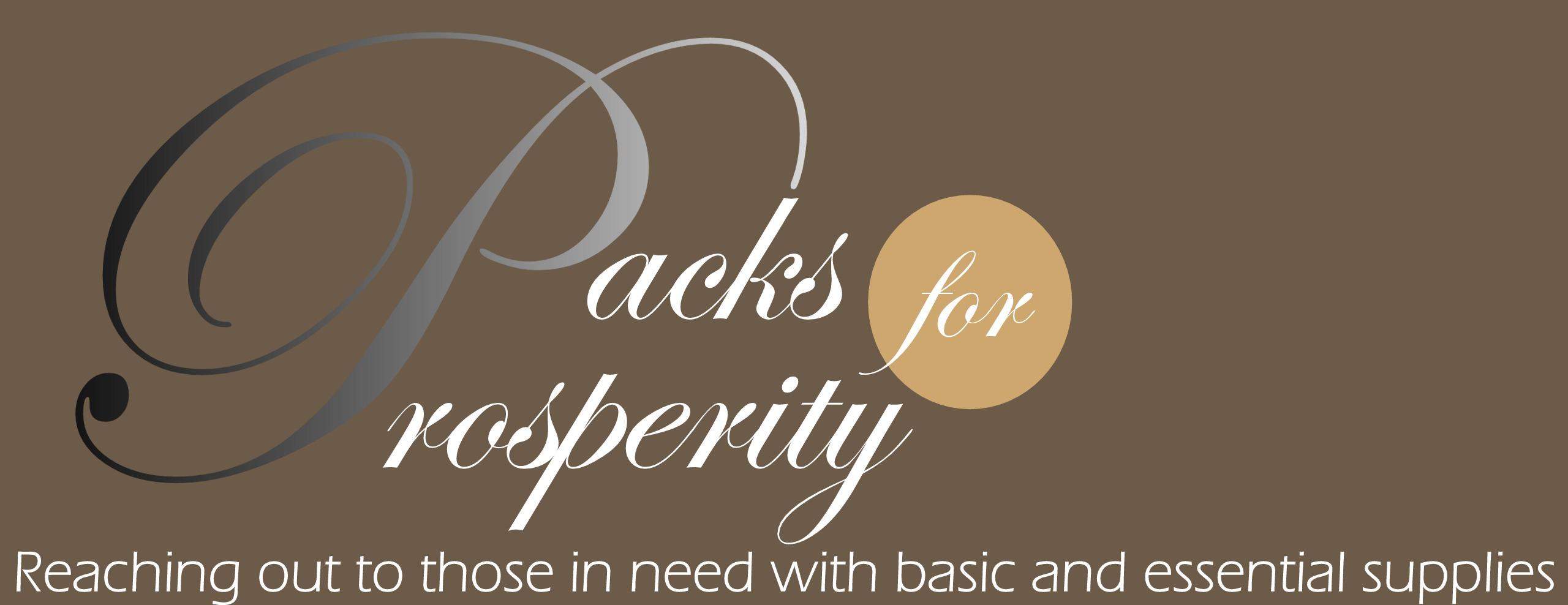 Packs for Prosperity