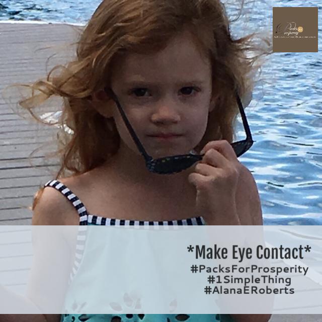 """Make Eye Contact"""